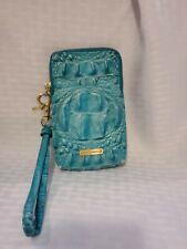 Brahmin Wallet Blue Green