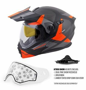 Scorpion EXO-AT950 Adventure Modular Motorcycle or Snow Helmet - Size / Color