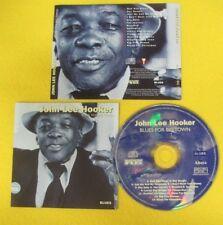 CD JOHN LEE HOOKER Blues for big town 1997 CHARLY no lp mc dvd (CS23)
