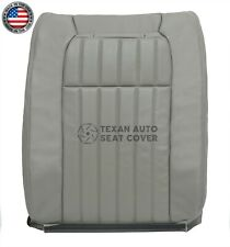 1995,1996 Chevy Impala SS Driver Side Lean Back Perforated Vinyl Seat Cover Gray
