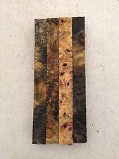 "Buckeye Burl Pen Blanks 3/4 x 3/4 x 8"" - 4 pieces-  Exotic Wood - #1933"