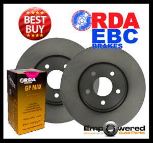RDA FRONT BRAKE ROTORS + PADS for MAZDA 323 ASTINA BJ 2.0L 2000-5/2003 RDA950