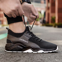 Mens Running Lightweight Breathable Casual Sports Fashion Sneakers Walking Shoes
