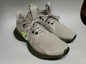 Adidas alpha bounce Instinct Shoes Ash Gray/yellow Size  7 continential
