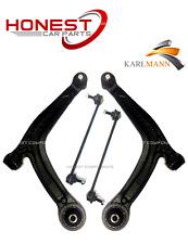FIAT 500 2008-2015 Anteriore Sospensione Braccio Oscillante Inferiore Braccia L&R & barre di collegamento X2 NUOVO
