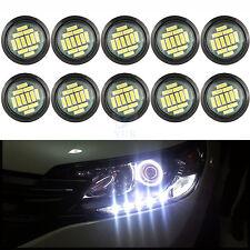 10X Car LED Daytime Reverse Backup Rock Under Body Eagle Eye DIY Light White 15W