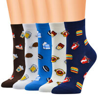 Leopard Print Socks Anklets Sox Bobbys Stockings Spring Women Ladies Socks W