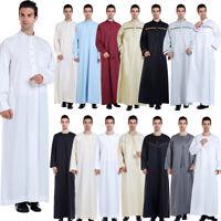 Thobe jubba Dishdasha Thawb Thoub Muslim Islamic Dress Abaya Daffah Kaftan Robe