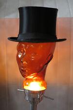 Zylinder Chapeau Claque Hut Klapphut Orginal TRUE VINTAGE top hat hat black 55
