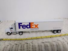 Matchbox Fedex Semi Tractor Trailer Tyco