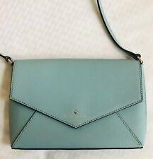 Kate Spade New York Purse Handbag Mini Shoulder Bag Flap Adjustable Strap Mint