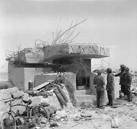 6x4 Gloss Photo ww6F8 Normandy D-Day Gold Beach 7 June 1944 Bunker
