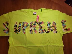 Supreme Toy Pile Tee Bright Green XL IN HAND