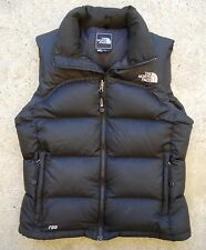 North Face Black Nuptse 2 700 Down Vest Jacket / Women's Size S