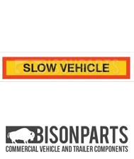* Camion, CV & Rimorchio Posteriore Marker Board lento veicolo ALLUMINIO 1265x225 BP76-170