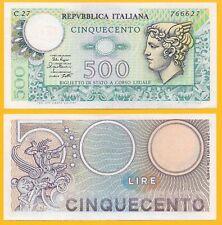 Italy 500 Lire p-94 1979 Biglietto di Stato UNC Banknote