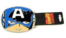 Il Capitano American Faccia Fibbia della Cintura ** Consegna Gratuita nel Regno Unito **