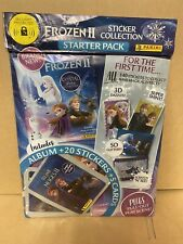 More details for frozen ii 2 panini the crystal sticker collection starter pack album