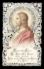 santino merlettato-holy card-canivet TUTTO PER GESU' bouasse lebel