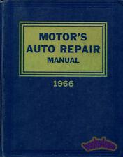 MOTORS AUTO REPAIR MANUAL SHOP SERVICE BOOK 1959-1966