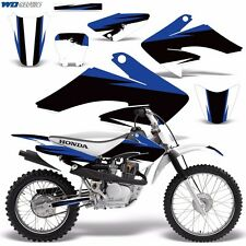 Decal Graphic Kit Honda CRF 70/80/100 CRF70 MX Bike Wrap w/Backgrounds CRF70 RB