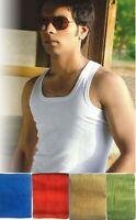 Mens Vest Fitt Slim Fit Athletic Muscle Gym Rib Tank Top Cotton wholesale price