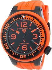 "Swiss Legend Men's 21818P-BB-01-OBS ""Neptune"" Stainless Steel Watch"