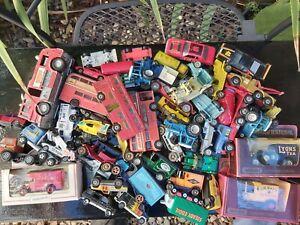 Huge lot Matchbox Corgi and others 1960s 70s 80s  Vintage Diecast Antique Toys