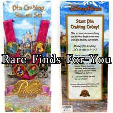 Disney Parks Princess Fantasyland Castle Lanyard 4-Pin Booster Starter Set (NEW)