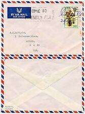 Figi caubati Agenzia postale manoscritta firmata a Tony Eastgate 30c 1972