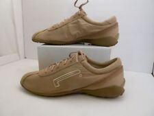 Pirelli Shoes Mens US 8.5 (EUR 41) Tan Seude Lace Up Pzero Rosso Corsa Sneakers
