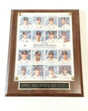 VINTAGE 1993 BASEBALL PLAYERS & COACHES ATLANTA BRAVES  NL CHAMPIONSHIP TEAM