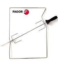 FAGOR 6KD-60CA Drehspieß Hähnchengrill für Backofen & Outdoor Grills