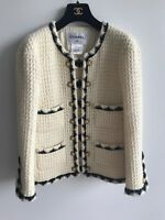 CHANEL PRE-FALL 2015 SALZBURG COLLECTION ICONIC TWEED JACKET SIZE 38 FR