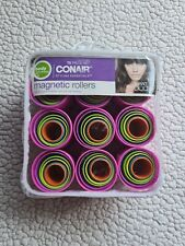 CONAIR Styling Essentials 75 Piece Magnetic Hair Rollers & Clips - Missing Comb