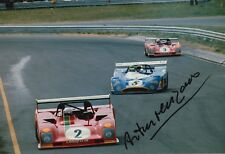 Arturo Merzario Firmato a Mano 12x8 FOTO FERRARI LE MANS 9.