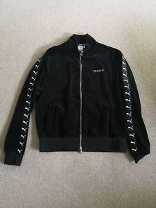 Puma The Kooples Zip Up Velour Track Suit  Black Mens