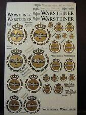 """DECALS 1/43-1/32-1/24-1/18  BIERE """" WARSTEINER """" -  T251"""