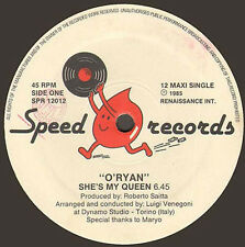 O'RYAN - She's My Queen - Speed Records