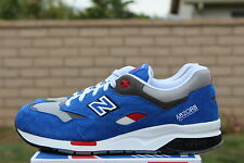 NEW BALANCE 1600 SZ 8 BLUE GREY WHITE BARBER SHOP PACK ELITE EDITION CM1600BB