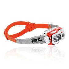 Petzl Unisex Swift RL Headlamp - Orange Yellow Sports Running Outdoors