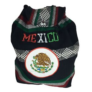 Mexico Beach Mexican Hippie Baja Tote Ethnic Backpack Bag Blanket Purse