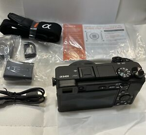 Sony Alpha a6400 Mirrorless 24.2MP 4K Digital Camera (Body Only)