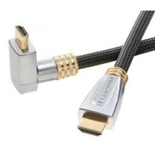 PROWIRE 1.5 m High Speed HDMI Cable with Ethernet, Gold, 2160p, 3D, 4K, 90 *PLUG