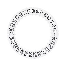DATE DISC FOR SEIKO 7S26 7S36 NH35 NH36 NH37 / SKX007 SKX009 WHITE TOP QUALITY