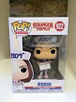 ROBIN SCOOPS AHOY FUNKO POP STRANGER THINGS NETFLIX MAYA HAWKE #922
