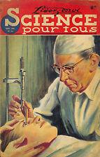 """REVUE """" SCIENCE POUR TOUS """" BASSIN PARISIEN, DETECTION SOUS-MARINE 1948"""