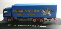 CARARAMA 1/80 SCALE MERCEDES BENZ ACTROS TRUCK: KNIGHTS OF OLD - BRAND NEW