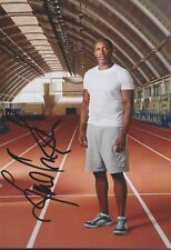 LINFORD CHRISTIE 5 Olympia 13x18 signiert IN PERSON Autogramm signed RAR