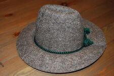 Schildkröt Puppen Hut aus Filz dunkelgrau für Puppen mit 33cm Kopfumfang 1008...
